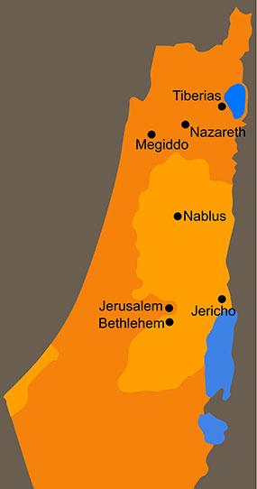 Christian Pilgrimage Map