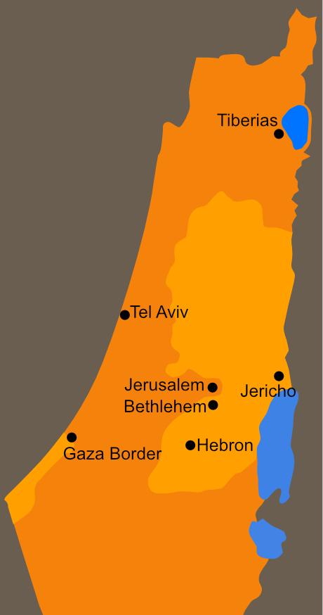 Olive Harvest Map